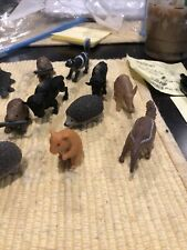 Lot Of 23 Mixed Animal Figures -Platypus, Hedgehog, Hamster, Ferret, Raccoon Etc