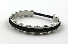 HAIR TIE HOLDER CUFF BRACELET Silver color Woman Woman gift teen Christmas gift