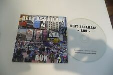 BEAT ASSAILANT CD SINGLE PROMO CARDSLEEVE. RUN.  POCHETTE CARTONNEE.