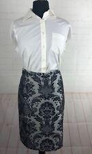 Ann Taylor Loft Womens Gray Pencil Skirt Size 6R $98