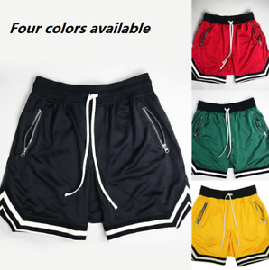 Muscle Fitness Brothers Men's Mesh Sports Training Pants Casual Shorts