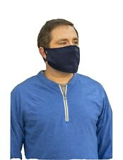 10 pack Face covering mask Cotton/Poly navy blue 10 pack NEW FAST FREE SHIPPING