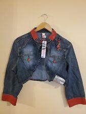 Pepe Jeans London Women's Mini Jacket Style Maria 45239L Dark Karma Size XL
