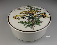 VILLEROY & BOCH BOTANICA CHRYSANTHEMUM CANDY BOX WITH LID  3 7/8""