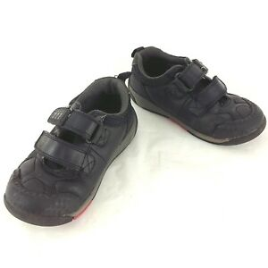 Clarks 10 1/2 G Kids Childrens Boys Shooter School Shoes