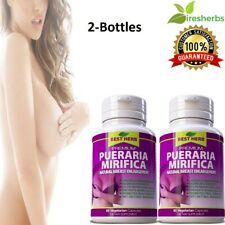 PUERARIA MIRIFICA NATURAL FIRMING BUST BREAST ENLARGEMENT SKIN CARE 120 CAPSULES