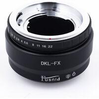DKL-FX Voigtlander Bessamatic Retina Deckel Lens to FX X-Pro1 Camera Adapter BR