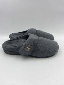 Vionic Womens Grey Slippers Size 9 M , 504