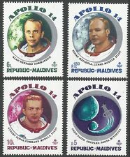 Space Maldivian Stamps (1965-Now)