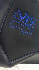 YAMAHA RAPTOR 660 GRIPPER seat cover  BLUE STICHING screw it logo