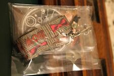 NIB Official BBC Dr Who Bow Tie Lanyard W/ Attached Dr Who Figurine