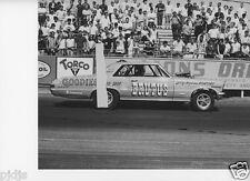 LEW ARRINGTON'S FAMOUS BRUTUS PONTIAC GTO AT LIONS    8x10 DRAG RACING PHOTOS