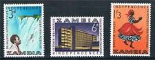 Zambia 1964 Independence SG91/3  MNH