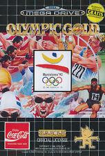 ## SEGA Mega Drive - Olympic Gold: Barcelona '92 (nur das Modul, ohne OVP) ##