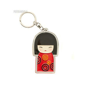 Porte Clés Collection Poupée Japonaise Kokeshi E7 8350