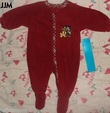 :-)*DISNEY STORE WINTER HOLIDAYS/CHRISTMAS MICKEY MOUSE ONE PIECE BODYSUIT **