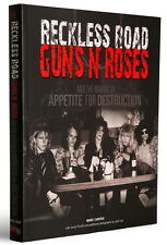 Guns N' Roses Reckless Road book signed 1985/1986 900 photos rare interviews