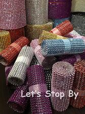 NEW Diamond Rhinestone Ribbon Bling Vase Wrap Floral Wedding Decoration Supplies