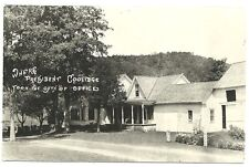 RPPC  Where President Coolidge Took the Oath of Office  Vermont  c1930s