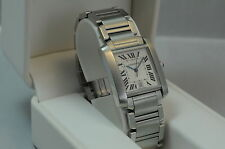 Cartier Tank Francaise 2302 Automatic men's watch, excellent