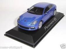 Porsche Panamera 4S 2016 saphirblau Herpa 1:43 WAP0207210G fabrikneu