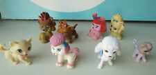 Lot of Barbie Size Pets Dogs and Cats