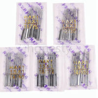 50X Home Sewing Machine Needle 11/75,12/80,14/90,16/100,18/110 for Singer