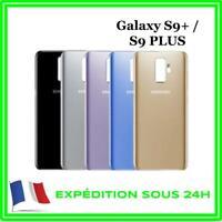 VITRE ARRIÈRE CACHE BATTERIE SAMSUNG GALAXY S9+ / S9 PLUS + LOGO + ADHÉSIF