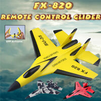 RC Toy Remote Control Aircraft Plane Fighter Jet Wing Airplane Xmas Gift FX-820