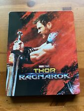 Thor Ragnarok Steelbook 4k Blu-ray, Excellent condition (Best Buy)