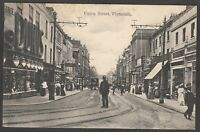 Postcard Plymouth Devon shops in Union Street posted 1913 WHS Aldwych Series