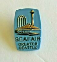 Vintage SEAFAIR Greater Seattle Pinback Button