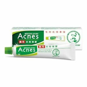 Mentholatum Acnes Medicated Acne Sealing Jell Gel Vitamin E & B6 18g