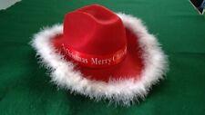 Merry Christmas Cowboy Hat (2020)