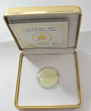 2007 Canada $150 Dollars Gold Lunar Year Of The PIG Proof COA #2005