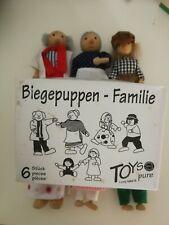 Biegepuppen - Familie 6 Stück - Toys Pure - SO 204