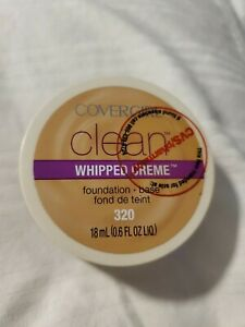 COVERGIRL CLEAN WHIPPED CREME Foundation 320