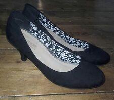 ♡ Dune Head Over Heels |Black Suede| Court Shoes - UK Size 5 ♡