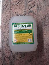 Essig-Essenz 80%, Acetosur Essig-Säure 80%,5 Liter, Lebensmittelqualität, hell