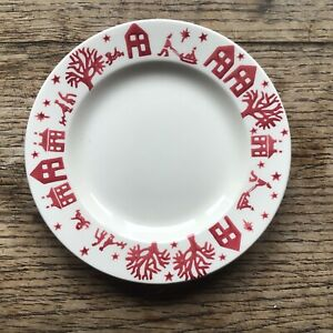 Emma Bridgewater 6.5 inch Tea Plate Christmas Town New