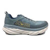 Hoka One One Bondi 6 Running Shoes Womens Size 11.5 11 1/2 Blue White Sneakers