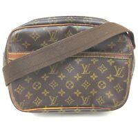 Louis Vuitton Shoulder Bag M45254 Reporter PM Browns Monogram 631409
