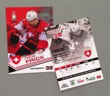 Taiga Lukas Frick Team Switzerland IIHF World Championship 2021