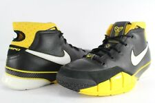 2006 Nike Zoom KOBE I 81 POINTS 1 BLACK MAIZE YELLOW WHITE GREY 313143-013 8