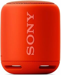 Sony SRS-XB10 Bluetooth Portable Extra Bass Speaker - Red