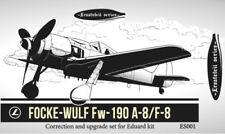 1/48 Karaya Es001 Focke-Wulf Fw-190 A-8/F-8 Correction & Upgrade for Eduard Kit