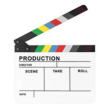 """Neewer 10""""*12""""/25x30cm Acrylic Colorful Director's Movie Film Clapper Clapboard"""