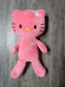 Build-A-Bear 18 inch SUNSHINE Coral Pink HELLO KITTY Sun Shine no bow