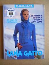 LANA GATTO Maglia della Lana Collezione Autunno Inverno 2001-2002  [C59]