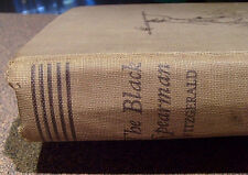 THE BLACK SPEARMAN A Story of the Builders of the Great Mounds~Fitzgerald~1939